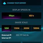 OnStar Speed Test Source IP