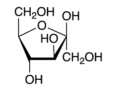 chemical structure of fructose