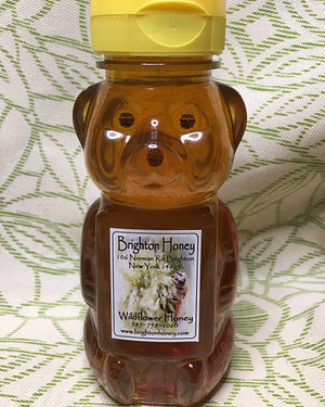 Brighton Honey Fall Dark Honey Bear